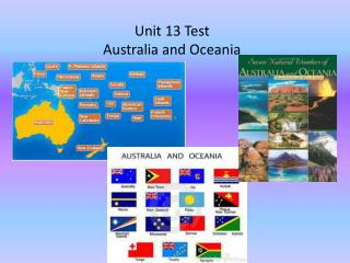 Unit 13 Test Australia and Oceania