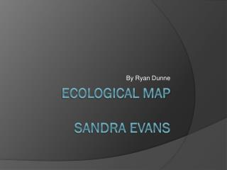 Ecological Map Sandra Evans
