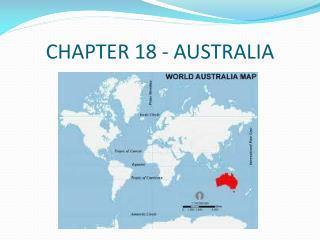 CHAPTER 18 - AUSTRALIA