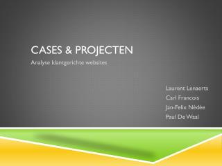 Cases & projecten