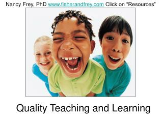 Quality Teaching and Learning