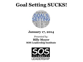 Goal Setting SUCKS!