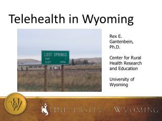 Telehealth in Wyoming