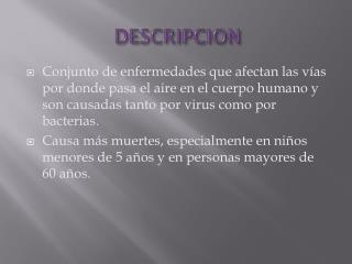 DESCRIPCION