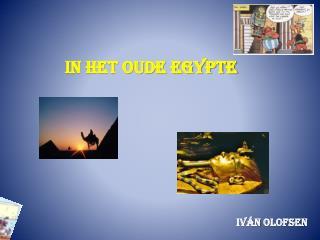 In het Oude Egypte