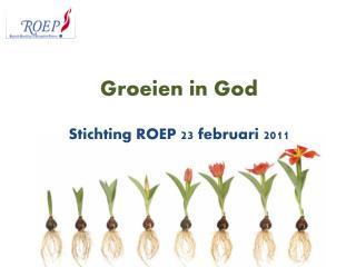Groeien in God