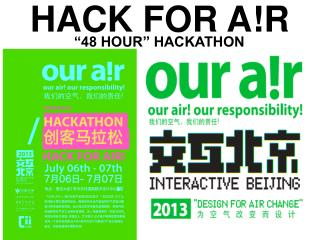 HACK FOR A!R