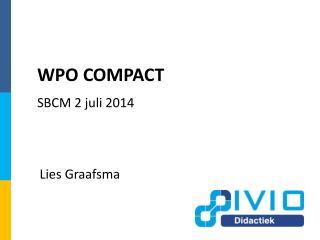 WPO COMPACT
