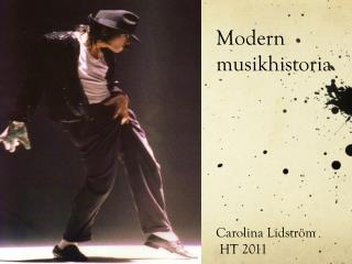 Modern musikhistoria