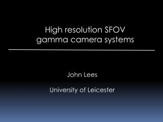 John Lees University of Leicester