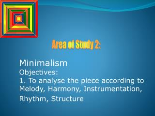 Area of Study 2: