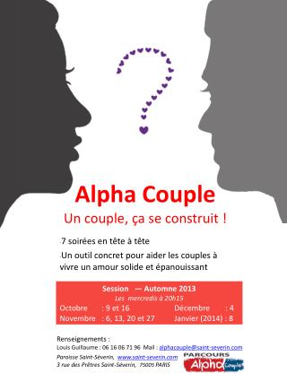 Alpha Couple Un couple, ça se construit !