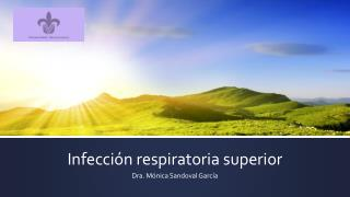 Infección respiratoria superior