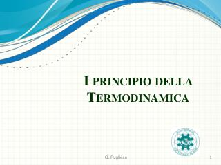 I principio della Termodinamica