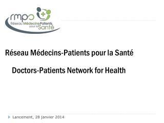 Réseau Médecins-Patients pour la Santé