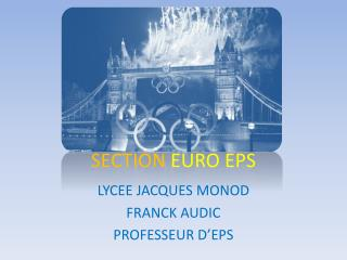 SECTION  EURO EPS