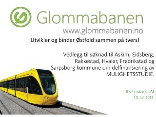 Glommabanen AS 10. Juli 2013.