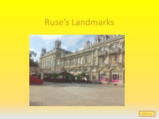 Ruse's Landmarks