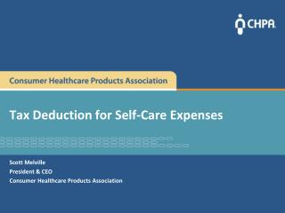 Tax Deduction for Self-Care Expenses