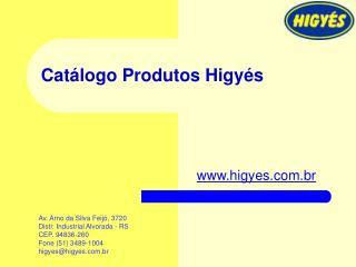 Cat logo Produtos Higy s