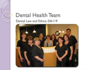 Dental Health Team