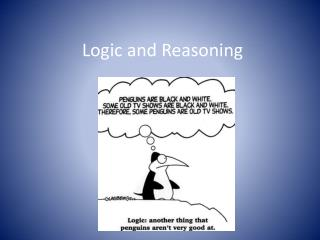 Logic and Reasoning