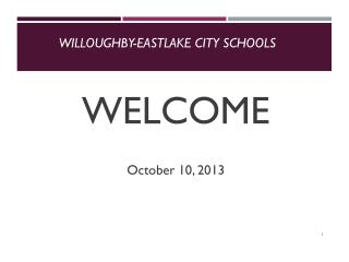 Willoughby-Eastlake City Schools