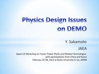 Y. Sakamoto JAEA