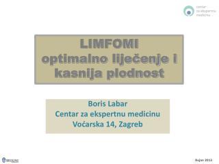 LIMFOMI optimalno liječenje i kasnija plodnost