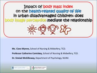 Impact of  body mass index on the  health-related quality of life