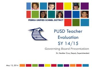 PUSD Teacher Evaluation SY 14/15