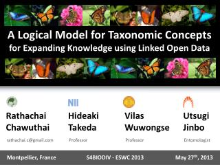 A Logical Model  for Taxonomic  Concepts  for  Expanding Knowledge  using  Linked Open Data