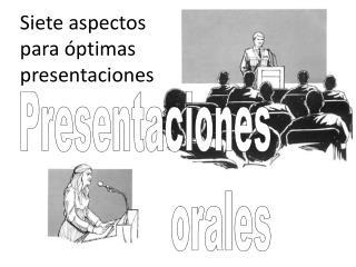 Presentaciones orales