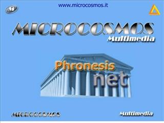 PRESENTAZIONE PRODOTTI E SERVIZI MICROCOSMOS