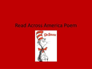 Read Across America Poem