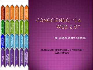 """CONOCIENDO """"LA WEB 2.0"""""""