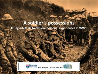 A soldier's possessions Using artefacts to explore personal experiences in WW1