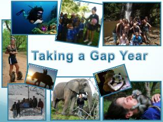 Taking a Gap Year