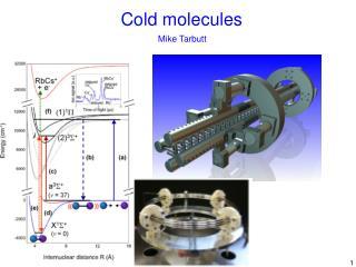 Cold molecules
