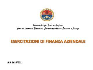 Universit� degli Studi di Cagliari