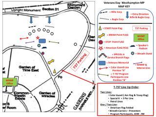 Veterans Day  Westhampton MP MAP KEY
