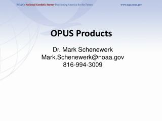 OPUS Products
