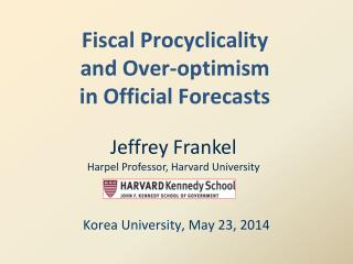Fiscal  Procyclicality and Over-optimism in Official Forecasts
