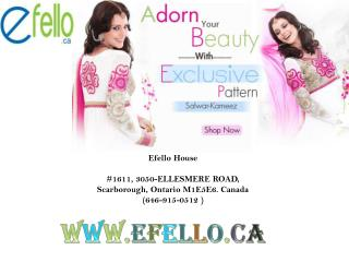 Online indian clothing collection