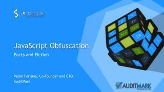 JavaScript Obfuscation
