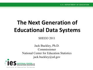 The Next Generation of Educational Data Systems