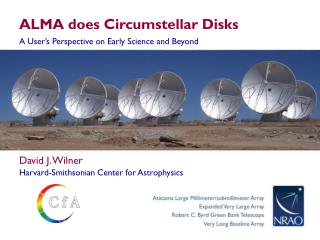 ALMA does  Circumstellar  Disks