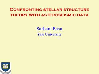 Confronting stellar structure theory with asteroseismic data