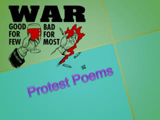 Protest  Poems