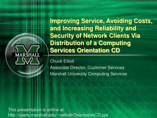 UCS Orientation CD